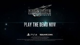FINAL FANTASY VII REMAKE Demo Out Now!