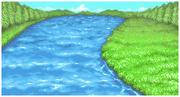 Fondo Lago Creciente Rio FFI