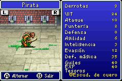 Estadisticas Pirata