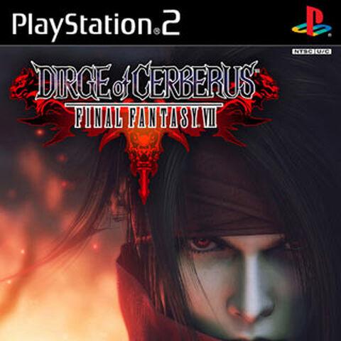 Vincent en la Portada de Final Fantasy VIII