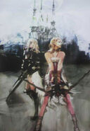 Light Serah Ilustracion FFXIII-2