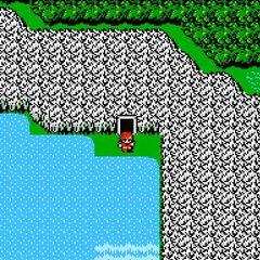Cascada Sémit en el Mapamundi (NES)