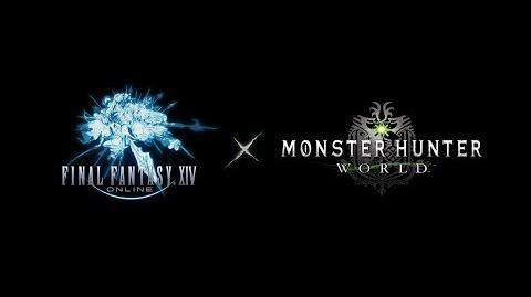 Final Fantasy XIV x Monster Hunter World Collaboration Teaser Trailer
