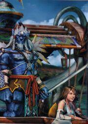 Kimahri y yuna