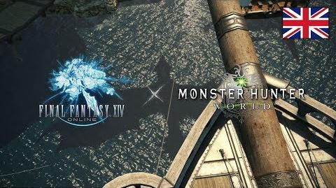 FINAL FANTASY XIV x MONSTER HUNTER WORLD Collaboration Trailer