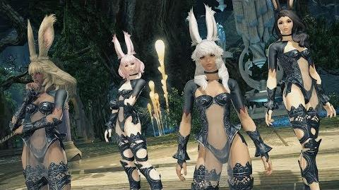 "FINAL FANTASY XIV SHADOWBRINGERS - New Race ""The Viera"""