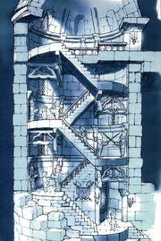 Ilustracion del Castillo FFIX