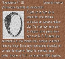 Expediente F3 FFVIII