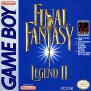 Portada Final Fantasy Legend II