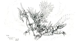 Demon ffvi concept art