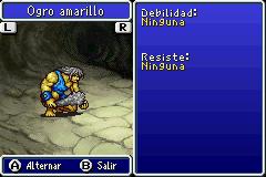 Estadisticas Ogro Amarillo 2