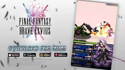 【FFBE】 FFVII Sephiroth Trailer【Global】