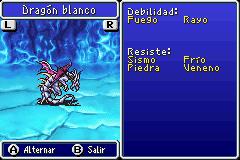 Estadisticas Dragon Blanco 2