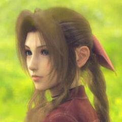 Aeris en la pelicula Final Fantasy VII Advent Children