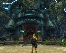 Templo de djose en ffx