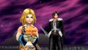 Squall y Yitan con sus cristales