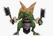 Hombre Reptil FFIX