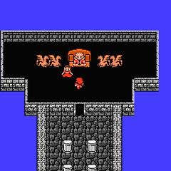 Castillo de Cornelia, sala Real. (NES)
