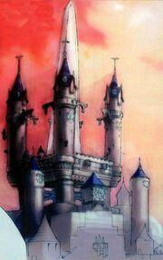 Ilustracion del Castillo Exterior FFIX