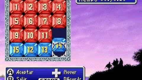 Minijuego puzle 15 - Final Fantasy I & II Dawn of Souls