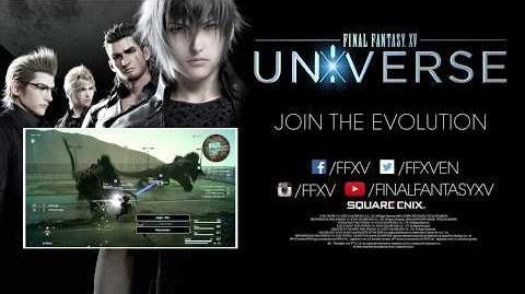 Final Fantasy XV Universe gamescom 2017 Trailer