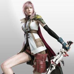 Lightning como aparece en la portada del juego