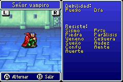 Estadisticas Señor Vampiro 2