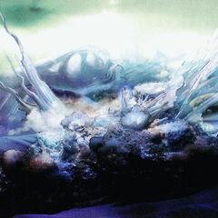 Ilustración del Lago Bresha, con su Cristal