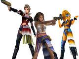 Lista de trabajos de Final Fantasy X-2
