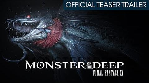 Monster of the Deep Final Fantasy XV (PSVR) Official Teaser Trailer (with subtitles)