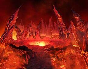 Caverna de las llamas en ff8