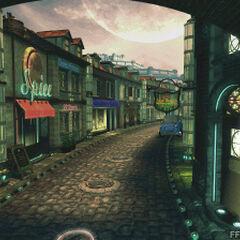 <b>Calle de la ciudad</b>