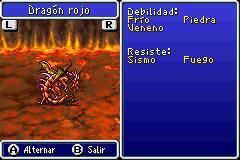 Estadisticas Dragon Rojo 2
