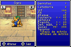 Estadisticas Ogro II