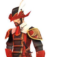 <small><center>Un mago rojo en <i><a href=