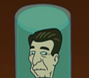 Cabeza de Ronald Reagan