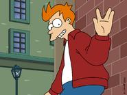 Fry Vulcan Salute by javoec