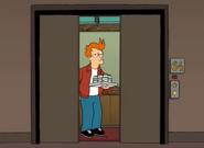 Fry en el acsensor