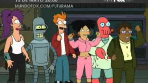 Promoción Futurama - nueva temporada