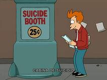 Cabina de suicidio