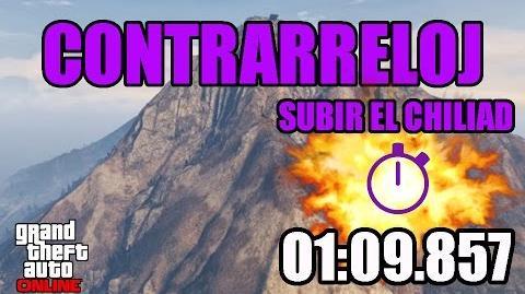 CONTRARRELOJ - SUBIR EL CHILIAD (GTA ONLINE) PS4