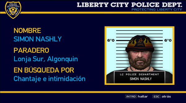 Simon Nashly en GTA IV