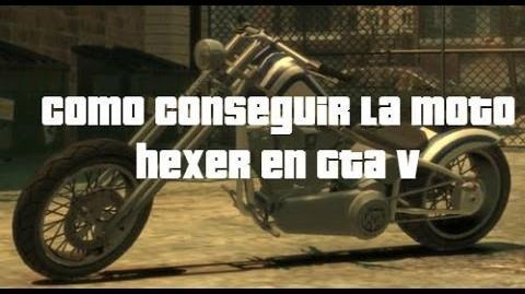 Como conseguir la moto hexer en gta v