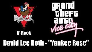 "GTA Vice City - V-Rock David Lee Roth - ""Yankee Rose"""