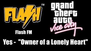"""GTA Vice City - Flash FM Yes - """"Owner of a Lonely Heart"""""""
