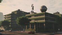 La sede del Daily Globe en Pillbox, Downtown Los Santos