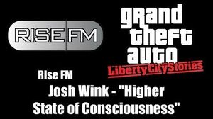 "GTA Liberty City Stories - Rise FM Josh Wink - ""Higher State of Consciousness"""