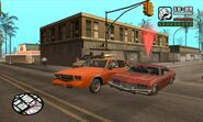 GTA San Andreas Beta Mission Drive-Thru 1