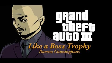 GTA3 Like A Boss Trophy