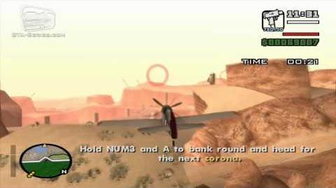 GTA San Andreas - Pilot School 3 - Circle Airstrip (HD)